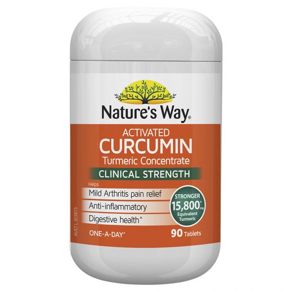 NATURE'S WAY ACTIVATED CURCUMIN