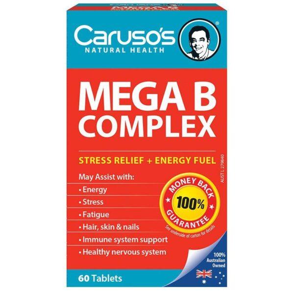 Caruso's Ultra Max Mega B complex