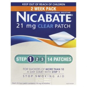 Nicabate Patch Clear 21mg