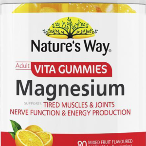 nature's way vita gummies adult magnesium