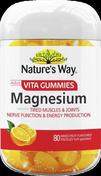 nature's way vita gummies adult magnesium