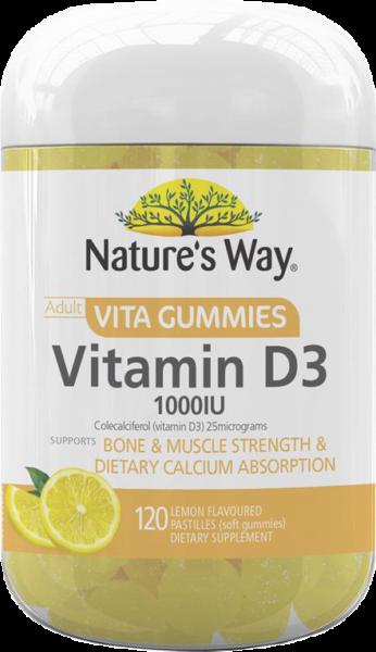 Nature's Way Vita Gummies Adult Vitamin D3